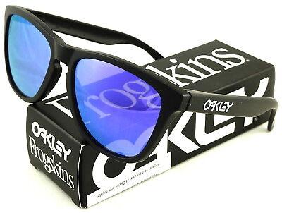 Oakley Frogskin 03-289 Iridium Rectangular Sunglasses,Crysta