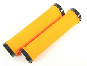 Velo Mountain Bike Locking Grips YELLOW