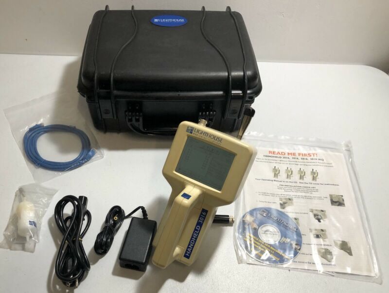 Particle Counter Lighthouse Handheld 3016 Airborne Particle Counter
