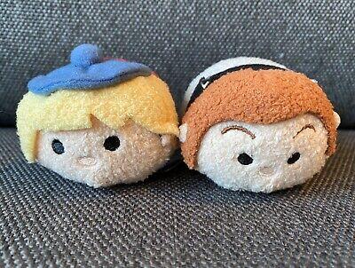 Tsum Tsum Disney Frozen Set of 2 Hans Kristoff Plush Mini Stuffed Animal