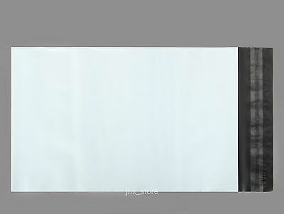 25 Poly Envelopes Mailers White Plastic Mailing Bags 6.7