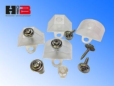 202 tlg. Montageset für Sinusplatten,Spenglerschrauben Edelstahl A2 4,5x45+Tx 20