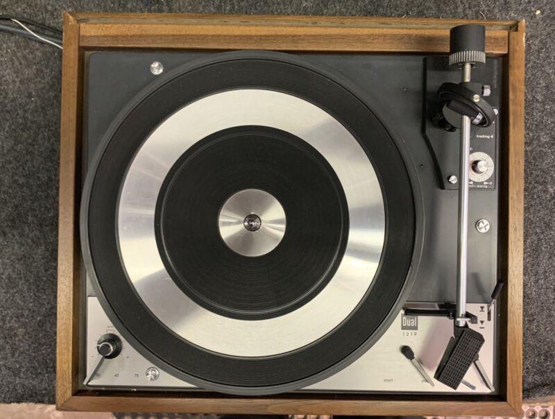 Vintage United Audio - Dual 1219 Turntable - Tested WORKING - New Cartridge