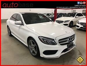 2015 Mercedes-Benz C-Class C300 4MATIC PREMIUM PLUS SPORT LED CL
