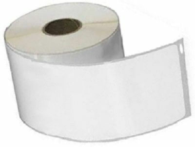White Dymo Compatible 99019 Internet Postage Shipping Labels 2.31x7.5 6 Rls