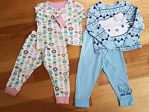 Girls Pajamas 1.5 to 2 years Everton Hills Brisbane North West Preview