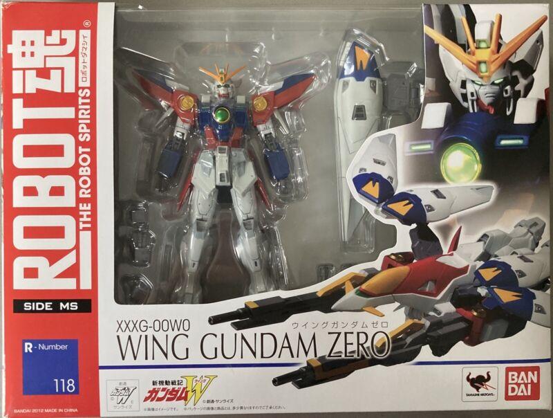 Bandai Robot Spirits Mobile Suit Gundam Wing Zero Transforming Action Figure