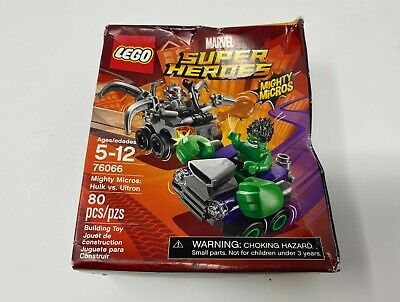 LEGO Super Heroes Marvel MIGHTY MICROS HULK VS ULTRON 76066 Sealed NIB