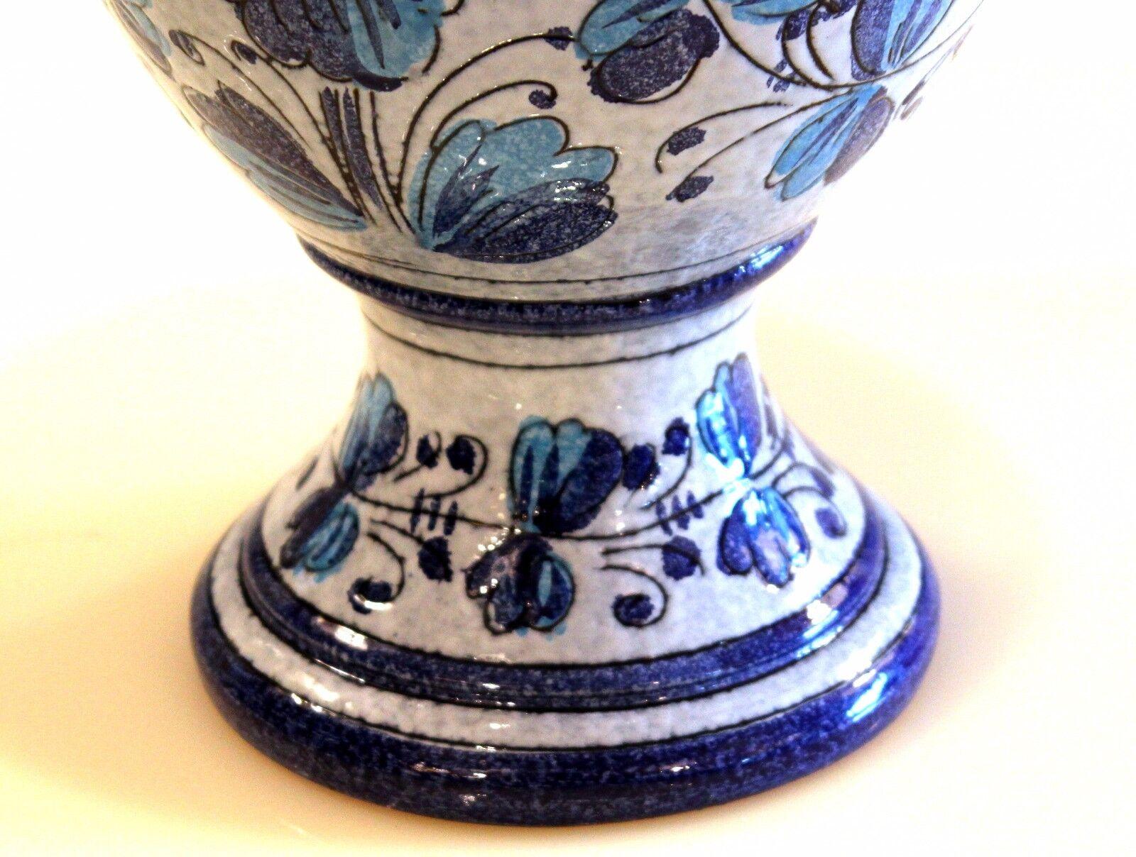 Vintage Mancioli Lamp Italian Art Pottery Raymor Vase