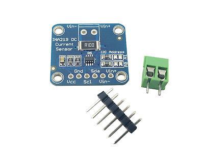 Ina219 Dc Current Sensor Module Breakout Board I2c 26v 3.2a Max For Arduino Usa