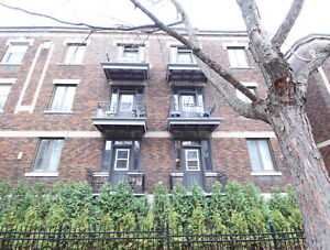 4 1/2 - Renovated - By Plateau - spacious  - near all amenities