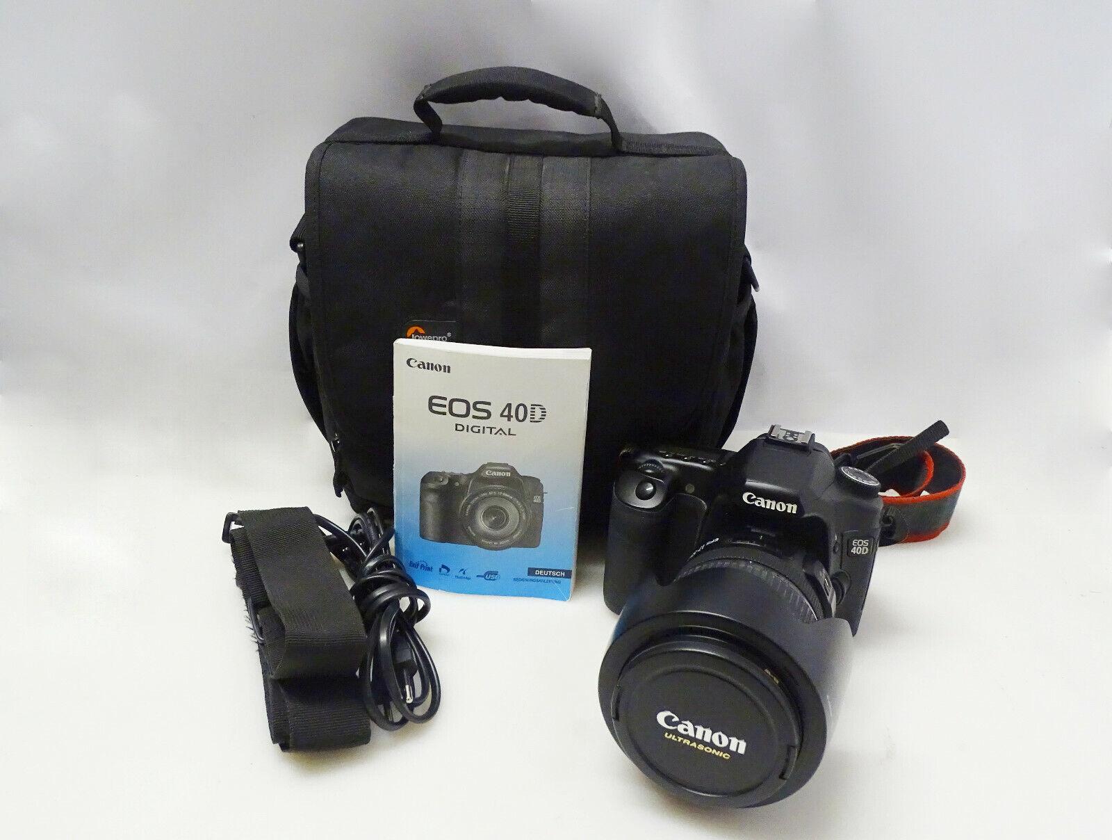 CANON EOS 40D SPIEGELREFLEXKAMERA + EFS 17-55mm Canon Zoom Lens