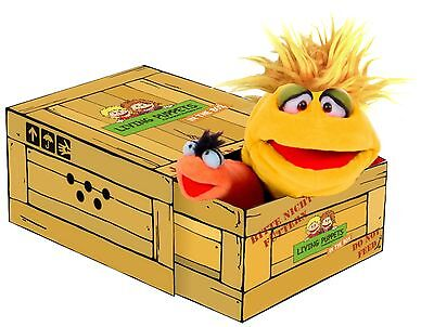 Living Puppets Little Yellow 30cm Handpuppe in der Box,Therapiepuppe