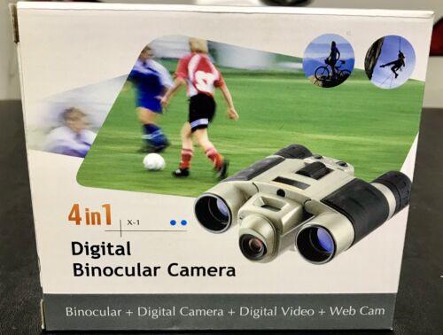 4 in 1 Digital Binocular Camera Video Web Cam Auto Exposure