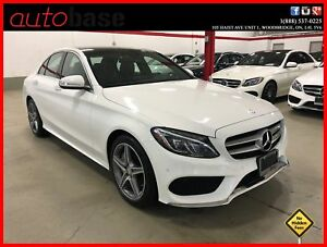 2015 Mercedes-Benz C-Class C300 4MATIC PREMIUM PLUS HUD LED SPOR