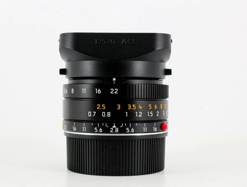 Leica 28mm f/2.8 Elmarit-M ASPH (11606) (SKU:1059338)