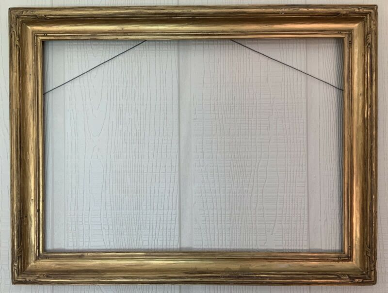 """AUTHENTIC """"NEWCOMB MACKLIN"""" CARVED  TAOS / SOUTHWESTERN / ARTS & CRAFTS  FRAME"""