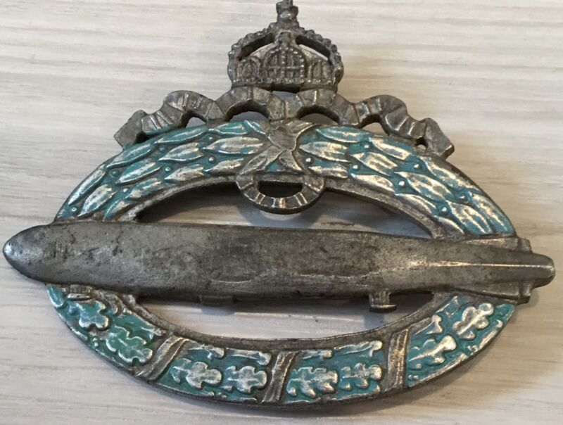 Imperial Germany, WW1, Naval Zeppelin Badge