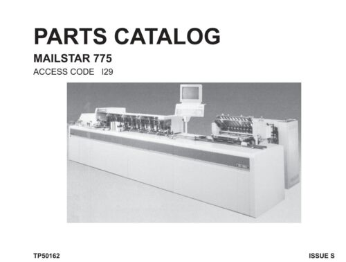 Bell Howell  Mailstar A775 Parts manual (pdf file)(037)
