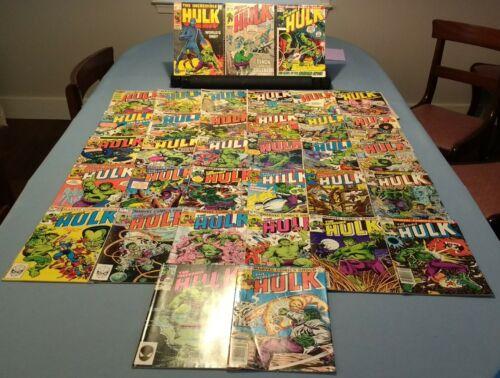 Incredible Hulk 117-336 (Bronze Age lot of 39 1969-1987 / Sal Buscema mid-grade