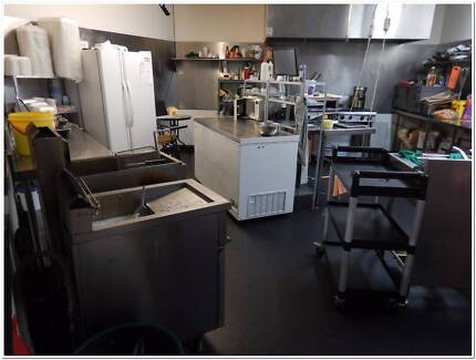 ALL EQUIPMENT TO FIT OUT A TAKEAWAY SHOP + TRAINING