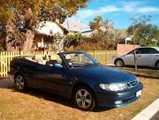 2002 Saab 9-3 Convertible North Perth Vincent Area Preview