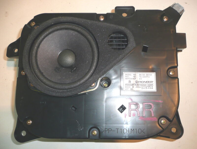 Lexus GS GS300 MK2 Pioneer Rear Drivers Side Factory Door Speaker With Pod