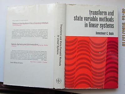 TRANSFORM AND STATE VARIABLE METHODS IN LINEAR SYSTEMS - Gupta