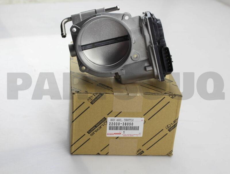 2203038050 Genuine Toyota Body Assy, Throttle 22030-38050