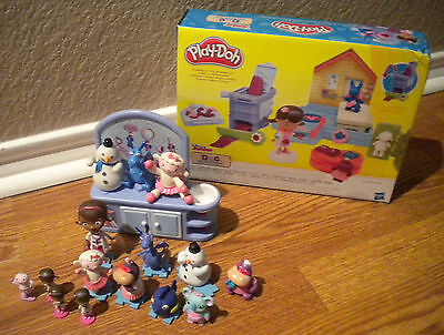 uffins Dolls Figures Check-up Station Play-Doh Modeling Clay (Doc Mcstuffins Play-doh)