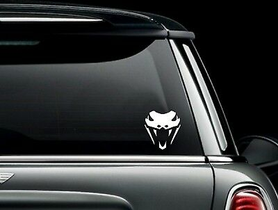 Cobra Viper Head Die Cut Vinyl Car Window Decal Bumper Sticker US Seller Cobra Window Decal