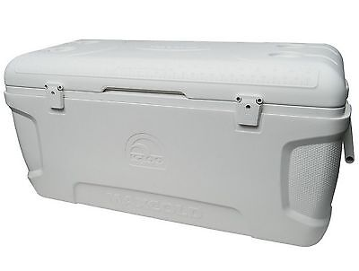 Large Igloo Cooler 150 Qt Quart Max Cold Ice Chest Insulated Marine Fishing New