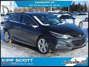 2018 Chevrolet Cruze Premier RS, Heated Leather, Turbo, Clean