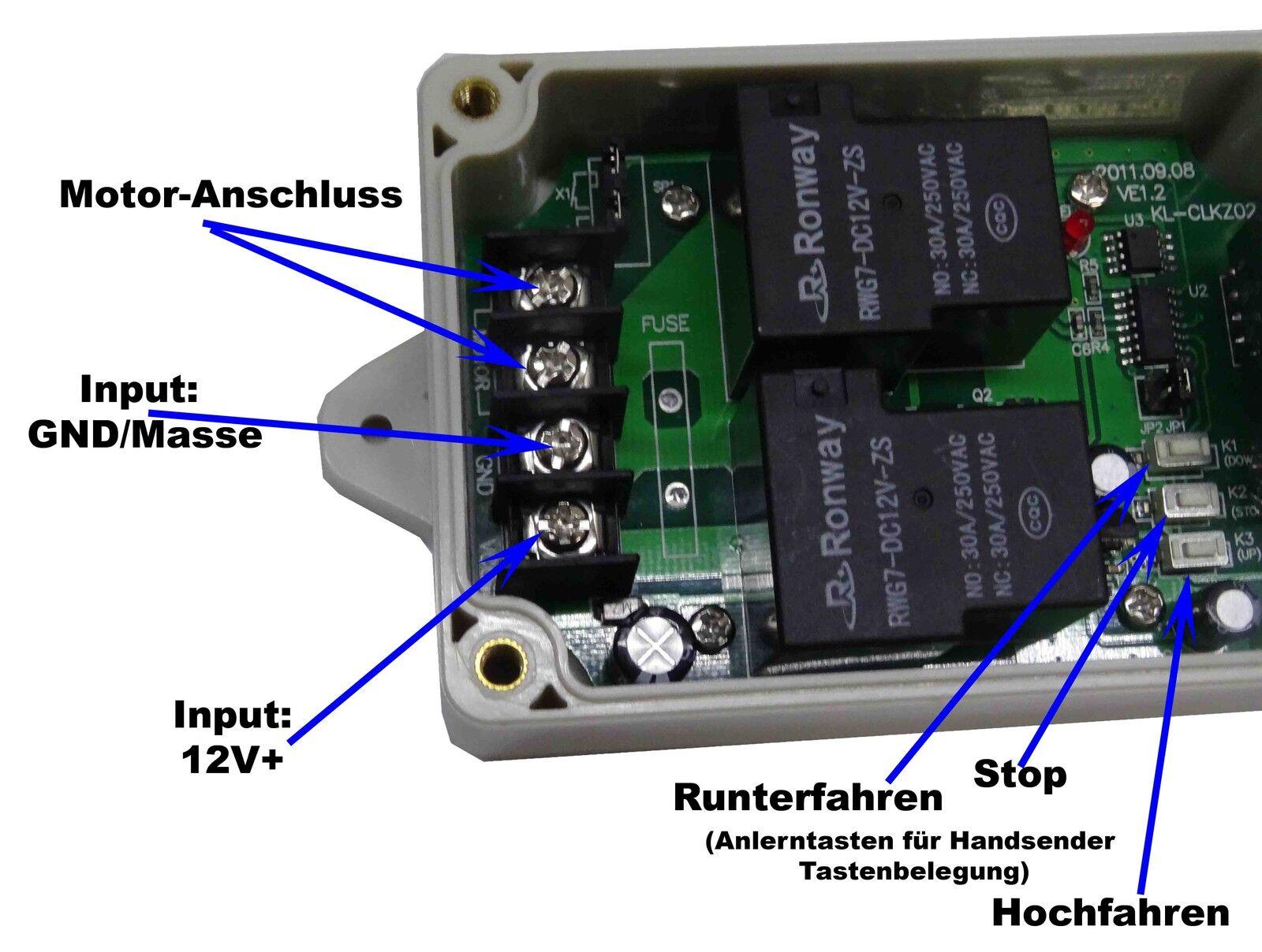 SOMFY Rollixo Optimo RTS Steuerung Rolltor Funk Torsteuerung neu ver AXROLL RTS