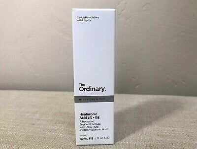 THE ORDINARY Hyaluronic Acid 2% + B5 30ml/1oz ~ BRAND NEW IN BOX ~ Free Shipping