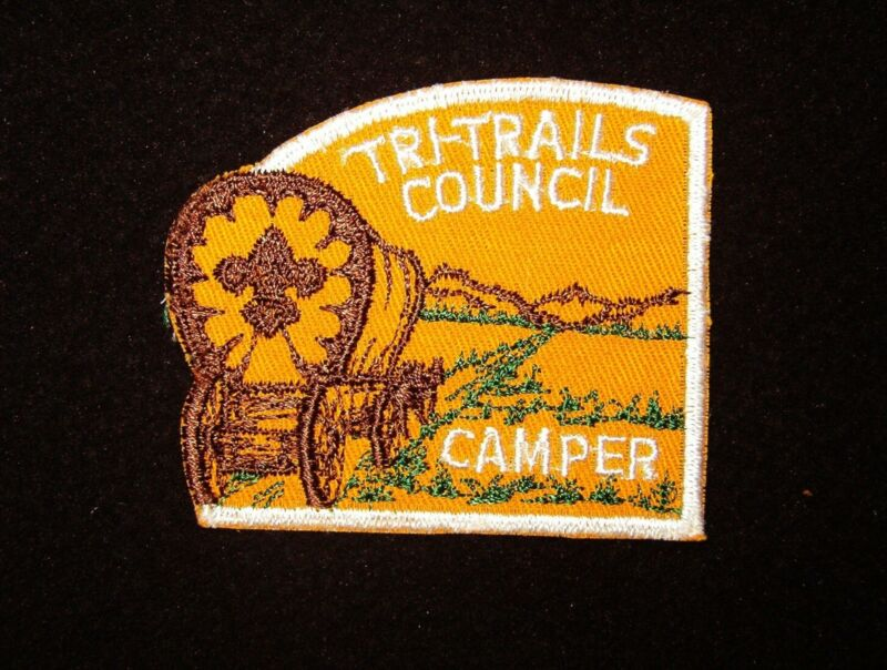 BOY SCOUT  TRI TRAILS COUNCIL CAMPER  C/E PP     NEB