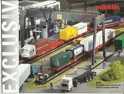 Katalog Märklin Neuheiten 3/2000 Modellbahnen in 1:87 HO