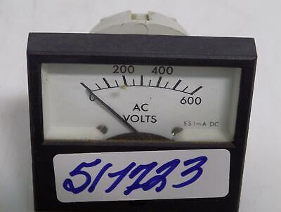Crompton 0-600 Ac Volt Meter 549-80