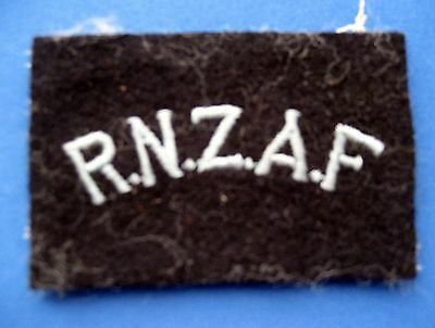 WWII ROYAL NEW ZEALAND AIR FORCE SHOULDER PATCH