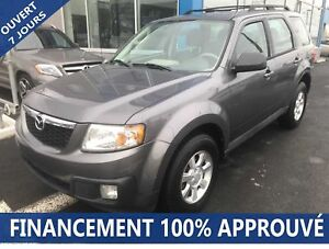 2011 Mazda Tribute GX 4WD *47$/SEM*FINANCEMENT 100% APPROUVÉ**