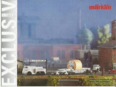 Katalog Märklin Neuheiten 2/1999 Modellbahnen in 1:87 HO