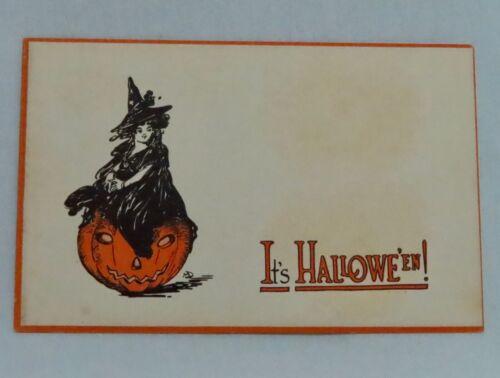 Vintage Gibson Art Halloween Postcard - 80933
