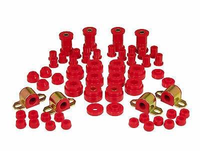Prothane 76 79 Jeep Cj5   Cj7 Total Complete Suspension Bushing Kit Red
