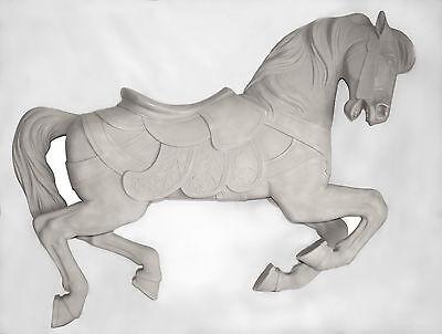 "Unpainted Full size Carousel Horse 58"" PTC Jumper Sale!"