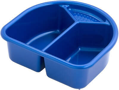 Rotho Wash Bowl With 2 Compartments - Royal Blue Pearl New