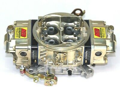 AED AL750HOM-BK Mod Holley Double Pumper Carb 750HO Modified Fully CNC Ported