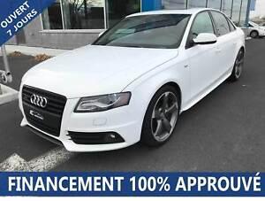 2011 Audi A4 S-Line AWD**67$/SEM*FINANCEMENT 100% APPROUVÉ**