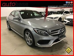 2015 Mercedes-Benz C-Class C300 4MATIC PREMIUM SPORT LED RED INT