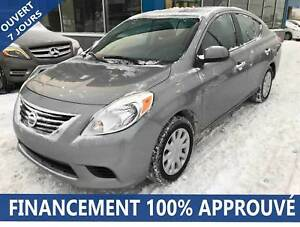 2012 Nissan Versa 1.6 SV**40S/SEM*FINANCEMENT 100% APPROUVÉ**