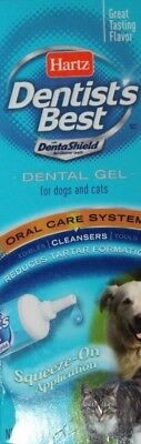 Hartz Dentist's Best Dental Gel Oral Care System Cleansers: Dogs and Cats X2